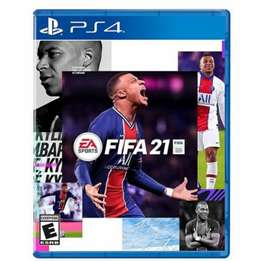 Fifa 21 Ps4, futbol Playstation 4, nuevo, físico y sellado