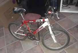 Bicicleta modelo BMX, marca Bianchini, rodado 20 de año 2005