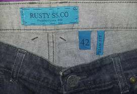 pantalon jean Rusty 42