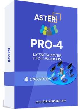 ASTER ibik Multiseat 4 Usuarios Para Su Computadora