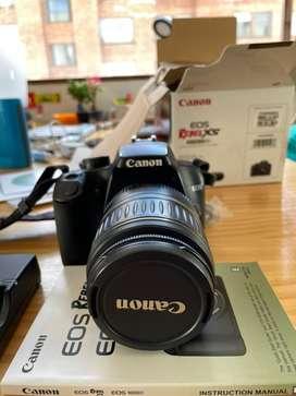 Camara Canon Rebel EOS XS