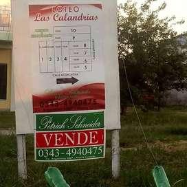 Loteo en venta en Maria Grande