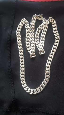 cadena.de. plata
