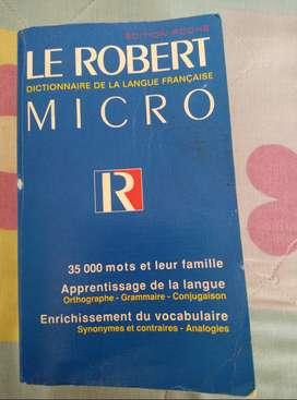 Dictionarie de la langue Français