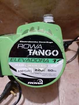 Vendo Bomba elevadora ROWA TANGO ELEVADORA 14