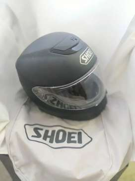 Vendo casco shoei qwest talle M negro mate