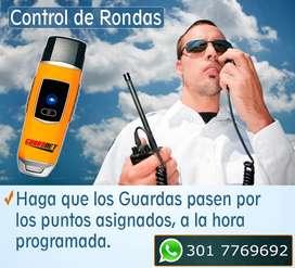 Control de Rondas Para Vigilantes y Guardas Ronderos