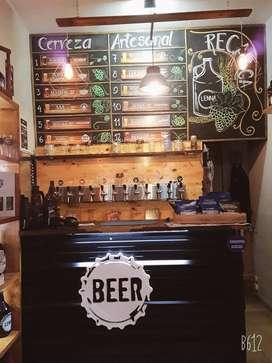 Venta de fondo de comercio Recargar de botellones cerveza artezanal