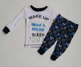 pijama niño de dos pieza (camibuso y sudadera)