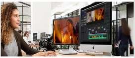 Srta. Conocimientos de EDICION de Video, Diseño Gráfico.