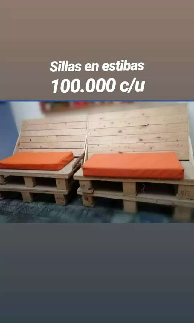 Muebles en estibas 0