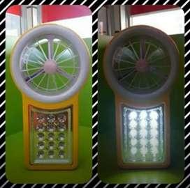 Luz de emergencia Portátil con ventilador brisa