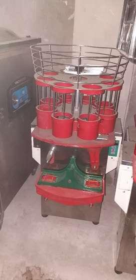 Máquina exprimidora automática para negocio o pequeña industria