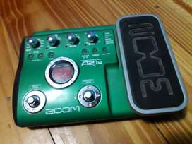 Pedalera de Guitarra Zoom A2.1u Tm Multiefecto