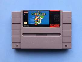 Juego Cartucho Super Mario World Super Nintendo snes