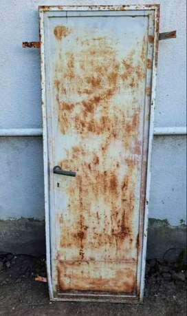 puerta de chapa para altillo 1,20m x 40cm fierro