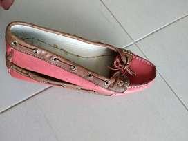 Zapato en cuero talla 38