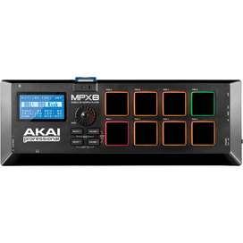 akai Mpx8 sampler y controlador musical
