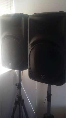 Parlantes Mackie C300z 600w 12 Passivo