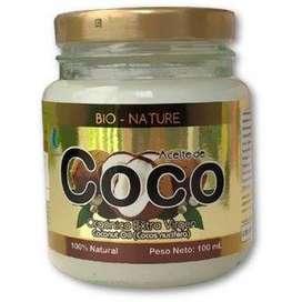 BIO - NATURE ACEITE DE COCO ORGANICO EXTRA VIRGEN