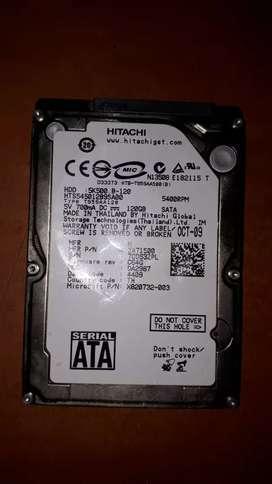 Disco duro 120gb para Xbox 360
