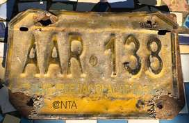 Antigua Patente Nacional de Carga