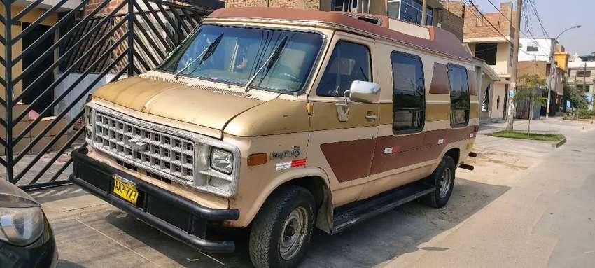 Chevrolet chevy van 0