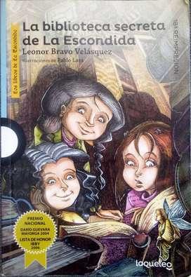 Libro La biblioteca secreta de la escondida