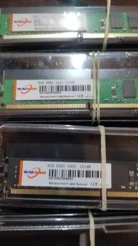 Memoria ram DDR3 8gb bus 1333 y 1600