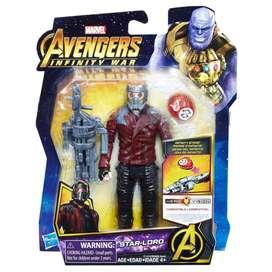 Muñeco  Avengers Infinity War Star-Lord