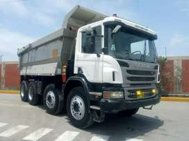 Camion Volquete Scania p460  8x4 año 2014