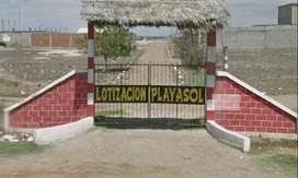 Vendo Terreno en Playasol- Playas