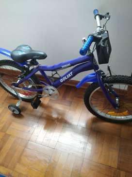 Bicicleta de niño marca Goliat