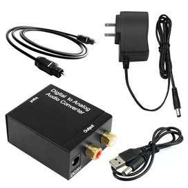 Convertidor Audio Digital a Rca