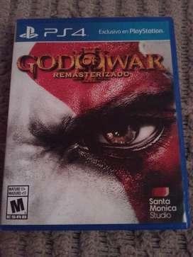 God Of War 3 Remasterizado Ps4 Fisico