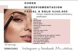 Curso cejas y micropigmentacion