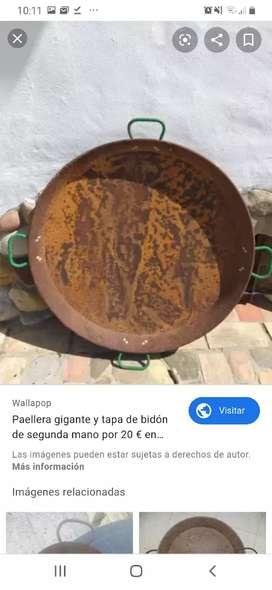 Vendo paellera