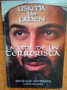 libro Usama Bin Laden Vida De Un Terrorista Lagos Nilsson  Perfect