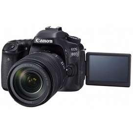 Cámara Canon Eos 80d Kit 18-135mm Nueva Original