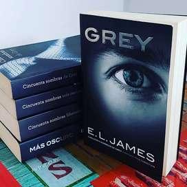 Grey, cuarto libro de la saga  cincuenta sombras