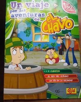 VENDO LINDO ÁLBUM COMPLETO DEL CHAVO