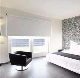 Venta de cortinas enrollables en black out o solar screen