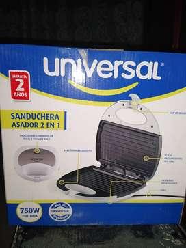 Sanduchera Universal Asador 2 en 1