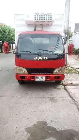 Se venda camion de carga JAC, refrigerado