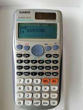calculadora Casio 991es plus integra deriva 420 funciones