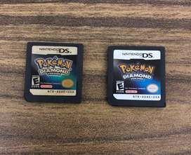 Pokemon Diamante de Nintendo DS version estadounidense