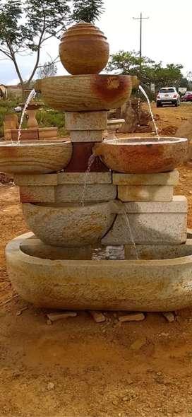 Fuentes en piedra Barichara