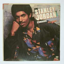 Stanley Jordan Standards Vinilo LP Jazz Blues Guitarra