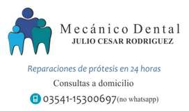 Mecanico Dental a Domicilio