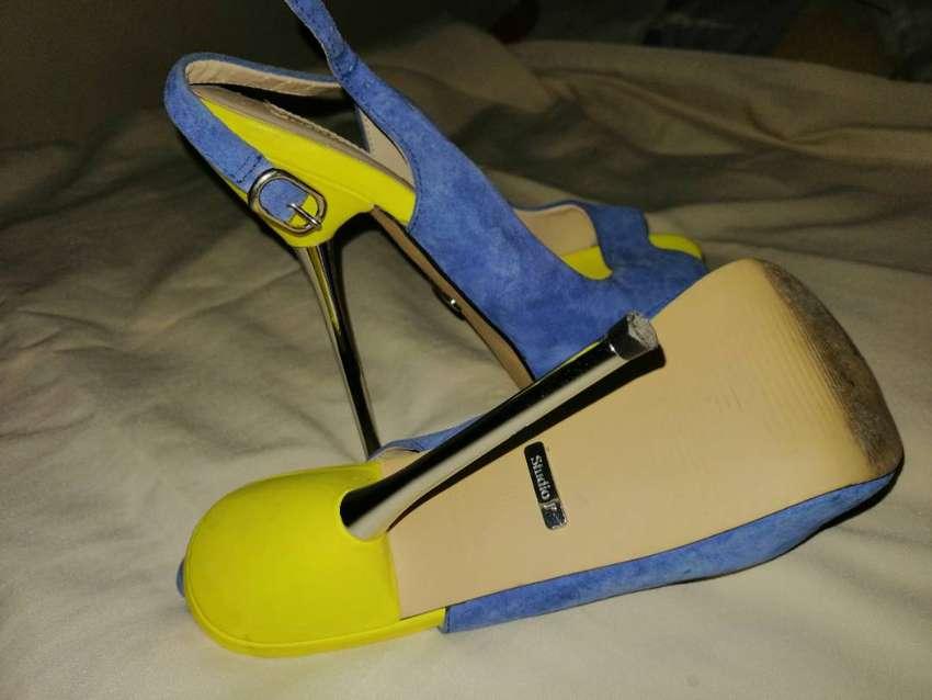 Lindos zapatos puntilla studio f talla 36